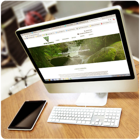 Site do Seven Ambiental